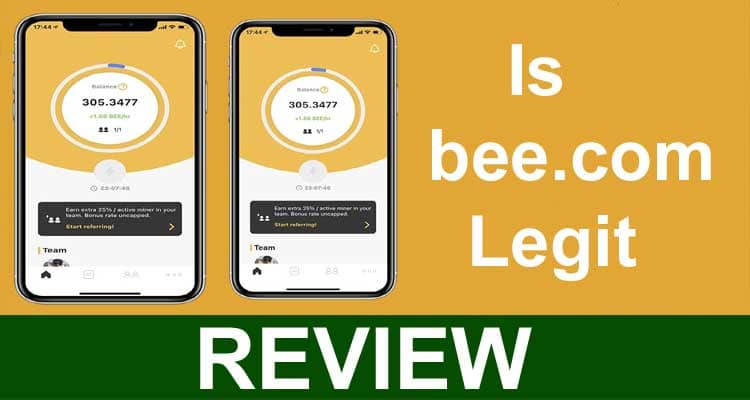 Is Bee.com Legit 2021