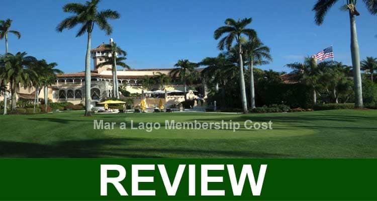 Mar A Lago Membership Cost 2021