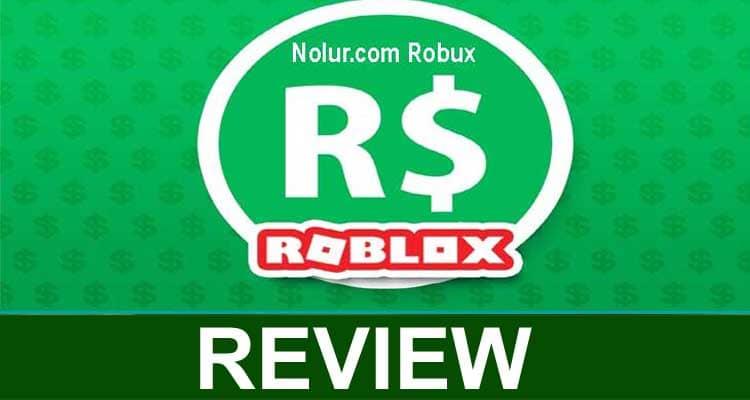 Nolur.com Robux 2020
