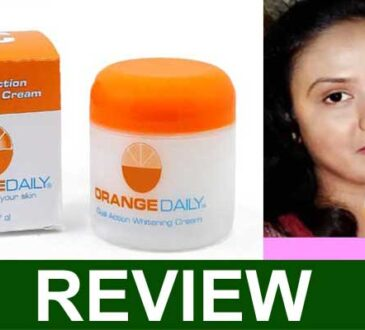 Orange Daily Dual Whitening Cream Reviews 2021