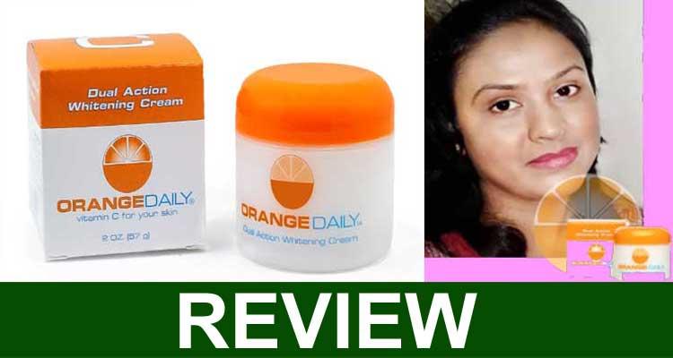 Orange Daily Dual Whitening Cream Reviews 2021