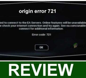 Origin Error 721 2021