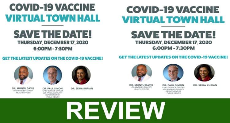 Publichealth.lacounty.gov COVID Vaccine