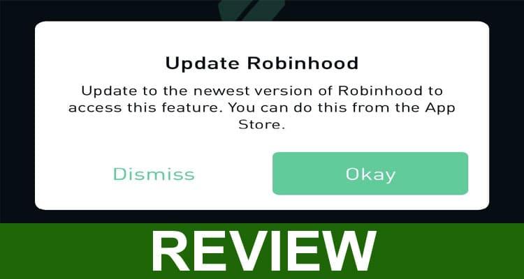 Robinhood App Error 2021