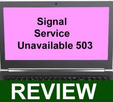 Signal Service Unavailable 503 2021