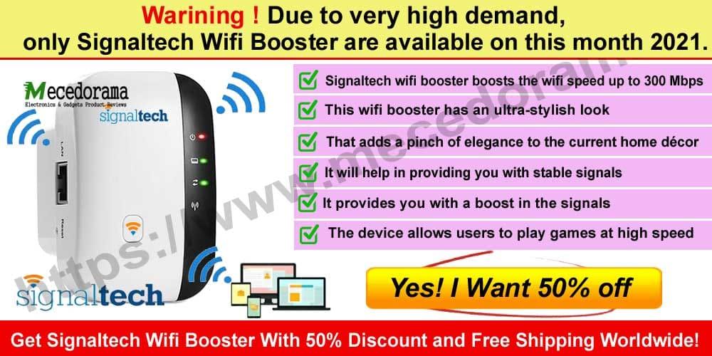 Signaltech Wifi Booster Scam
