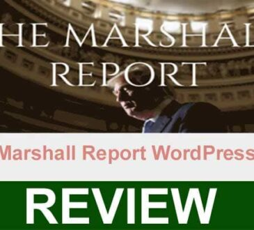 The Marshall Report WordPress Com 2021