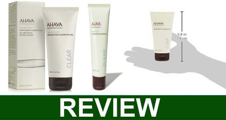 Ahava Refreshing Cleansing Gel Reviews 2021