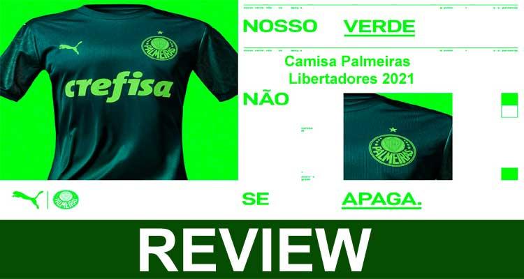 Camisa Palmeiras Libertadores 2021.