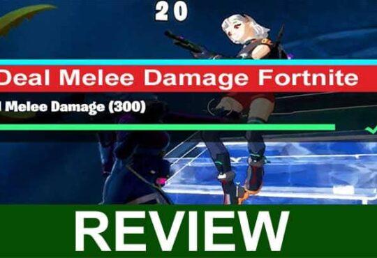 Deal Melee Damage Fortnite 2021
