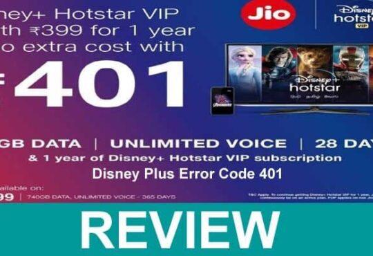 Disney Plus Error Code 401 Reviews