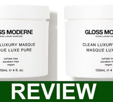Gloss Moderne Clean Luxury Hair Masque Reviews 2021