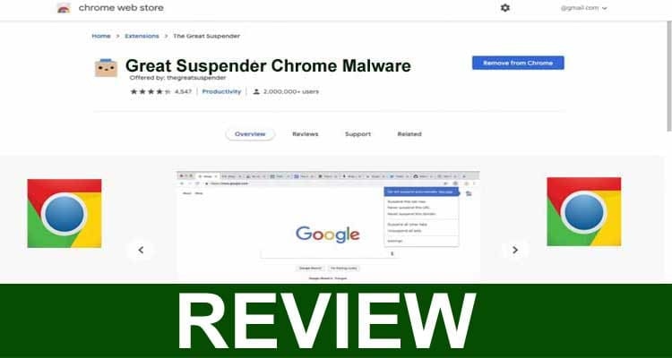 Great Suspender Chrome Malware 2021