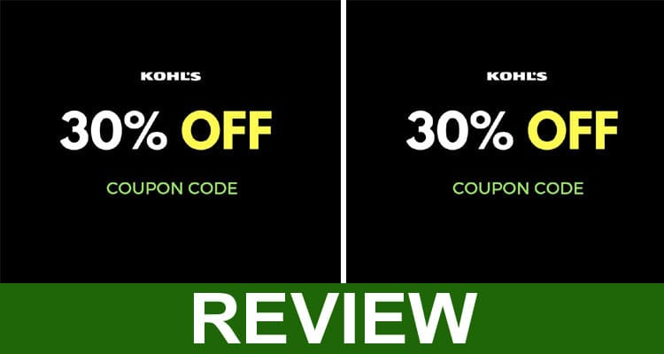 Kohls 30 off Coupon February 2021