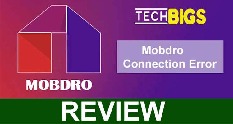 Mobdro Connection Error 2021