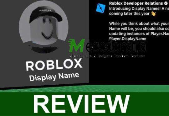 Roblox Display Name 2021