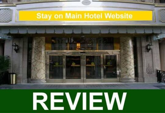Stay on Main Hotel Website {Feb} What Was The Mystery