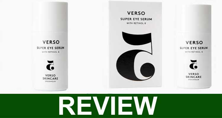 Verso Botanicals Super Eye Serum Reviews 2021