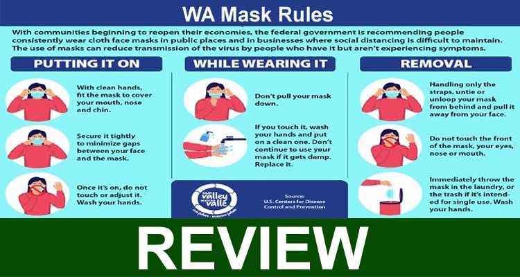 WA Mask Rules 2021