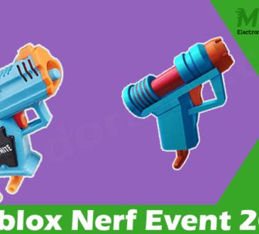 latest News Roblox Nerf Event 2021