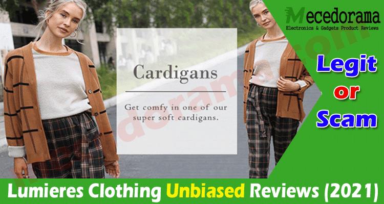 Lumieres Clothing Reviews (Aug 2021) Legit or a Hoax?