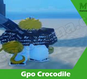 Gaming Tips Gpo Crocodile